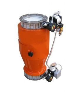 Válvula electro-magnética de descarga continua-