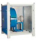 Caja de insonorización para ventilador