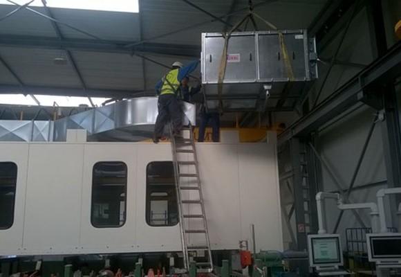 Galería de instalación y mantenimiento